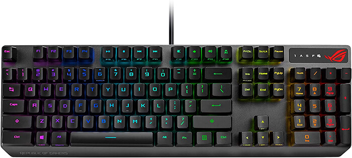 ROG Strix Scope RX Review - Best Gaming Keyboard for Dota 2!